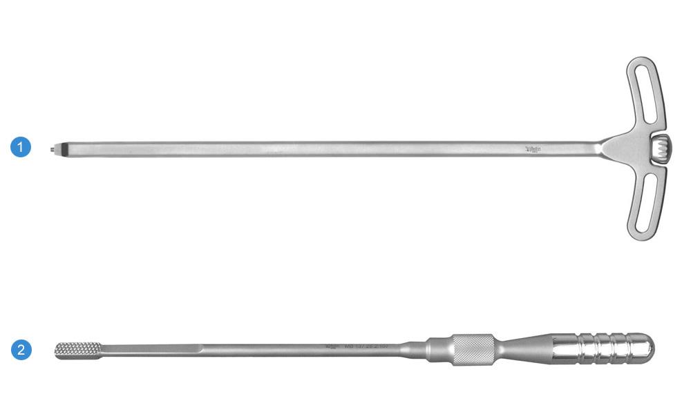 Набор инструментов для установки кейджа межтелового «САПФИР»