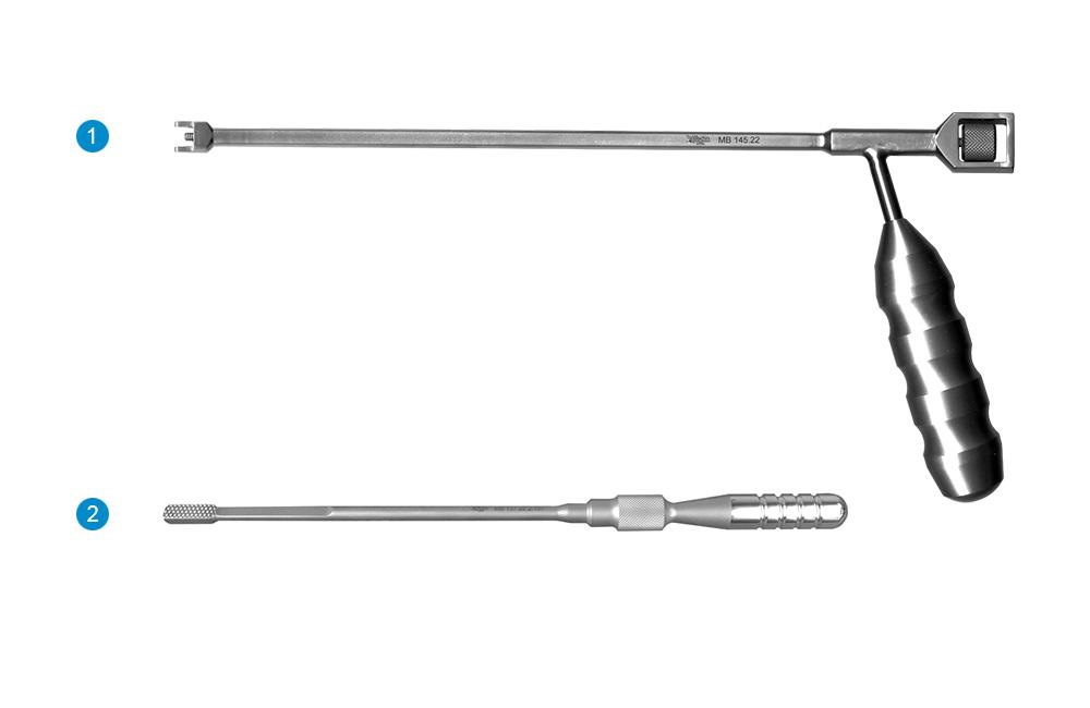 Набор инструментов для установки кейджа межтелового «ЦЕРТУС»