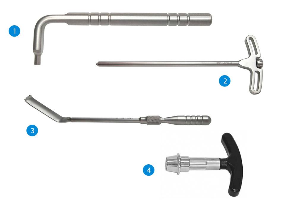 Набор инструментов для установки кейджа «БИКЕЙ»