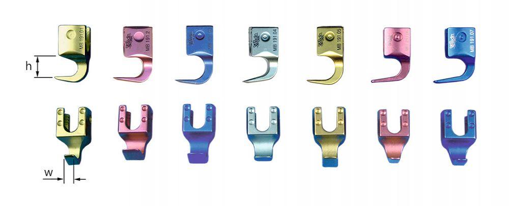Крючок-фиксатор поясничный ламинарный