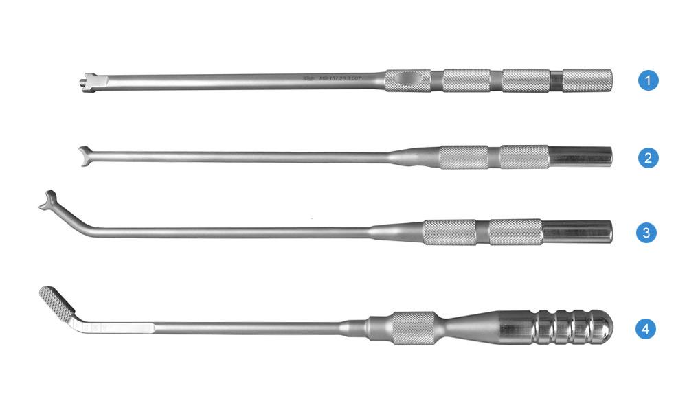 Набор инструментов для установки кейджа межтелового «ДУГА»