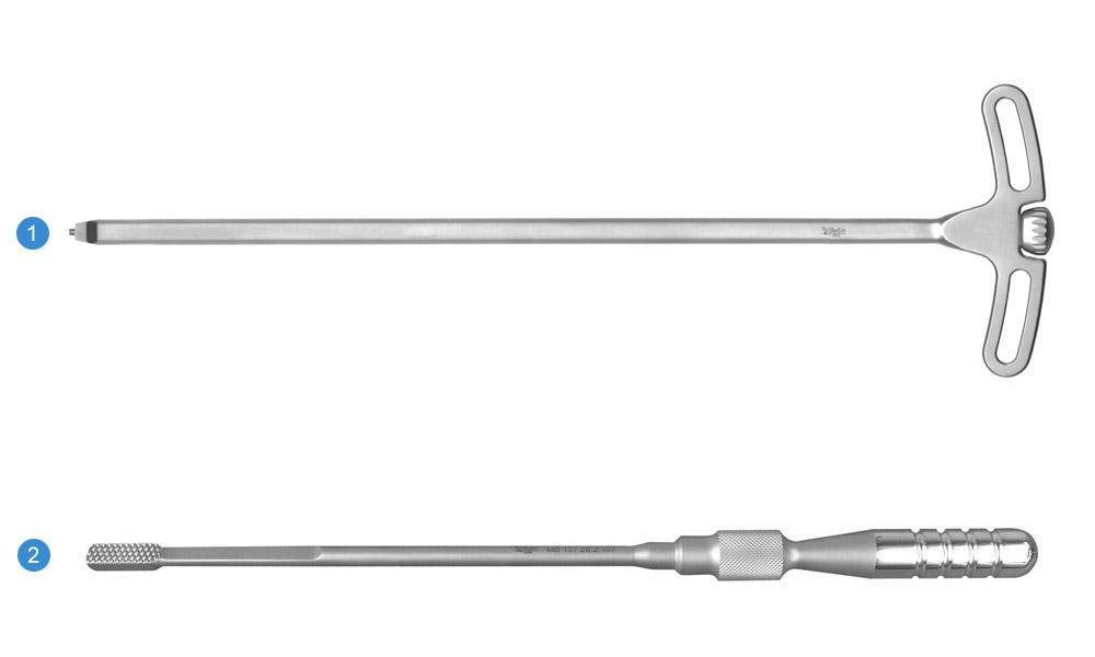 Набор инструментов для установки кейджа межтелового «ЖЕЛУДЬ»