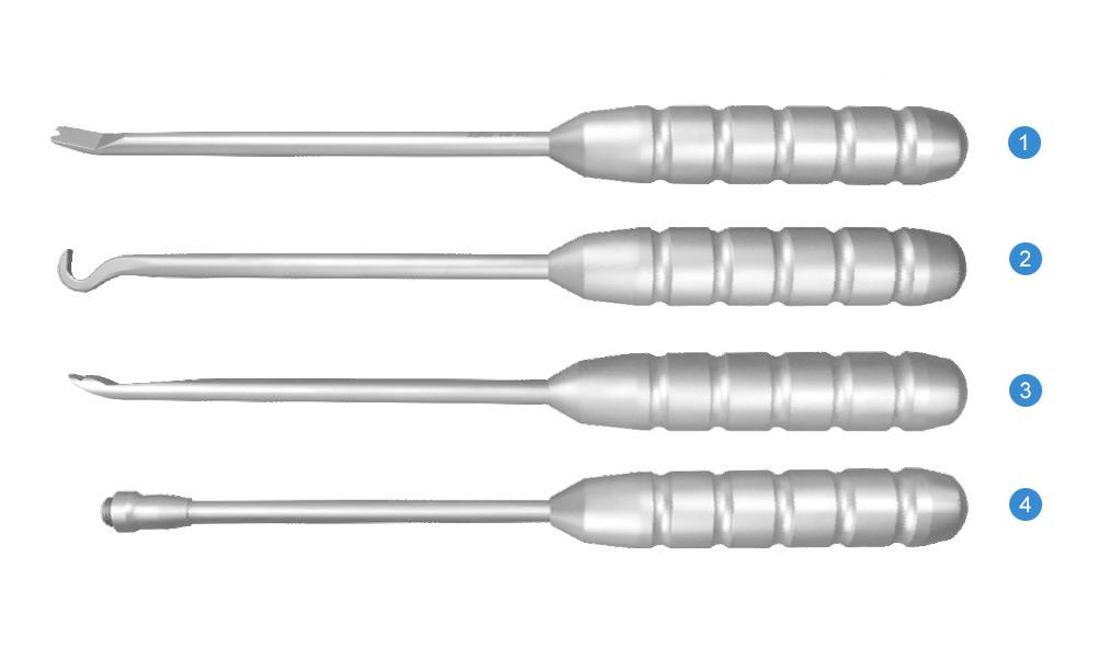 Набор инструментов для установки крючков-фиксаторов