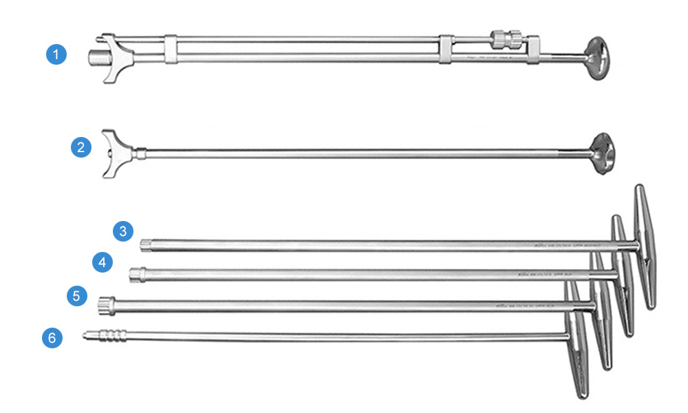 Набор инструментов для установки системы «ЛИРА» и «ЛИРА-М»