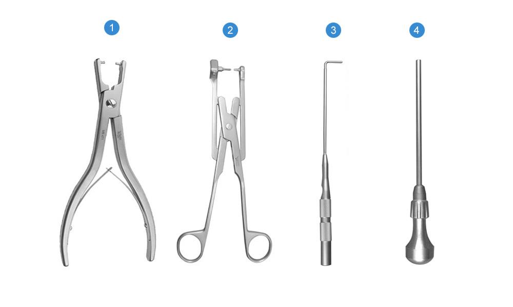 Набор инструментов для установки фиксатора межосистого